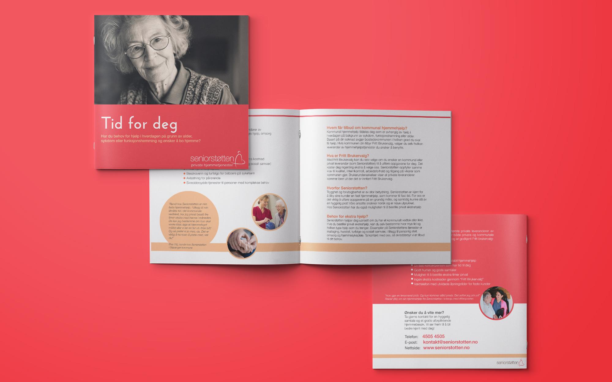 Seniorstøtten brosjyre