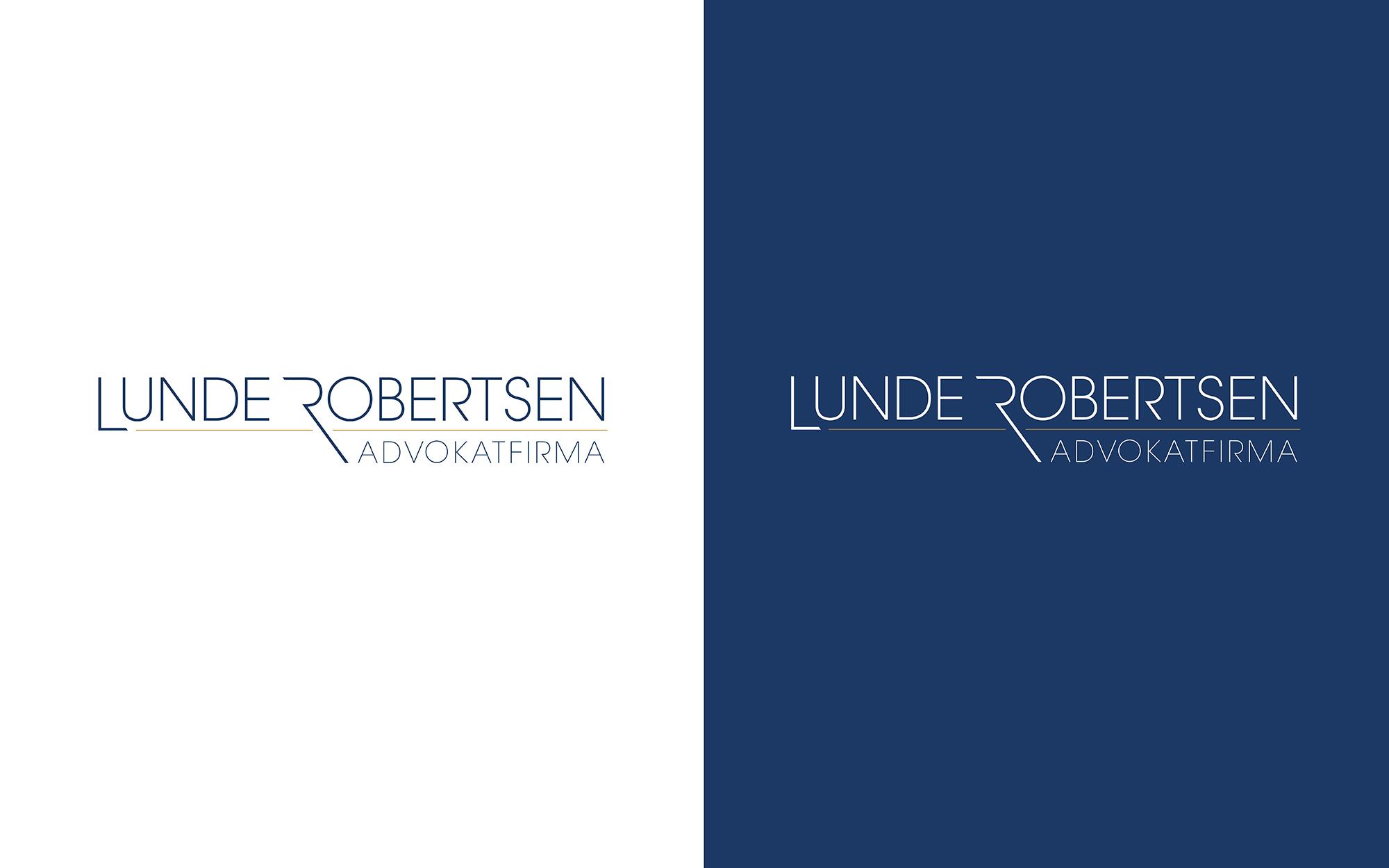 Lunde Robertsen logo