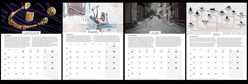 Jubileumskalender Moss2020 innhold