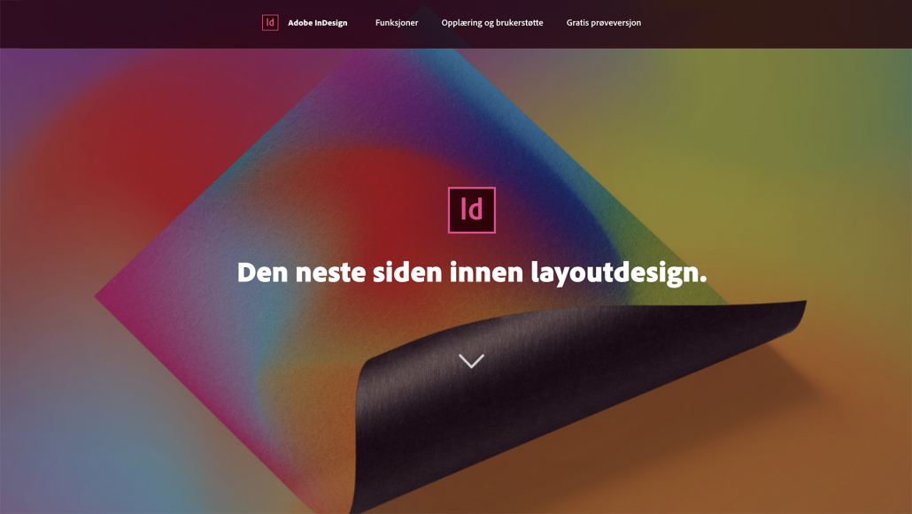 Adobe Indesign - Sandaunet Dersignbyrå