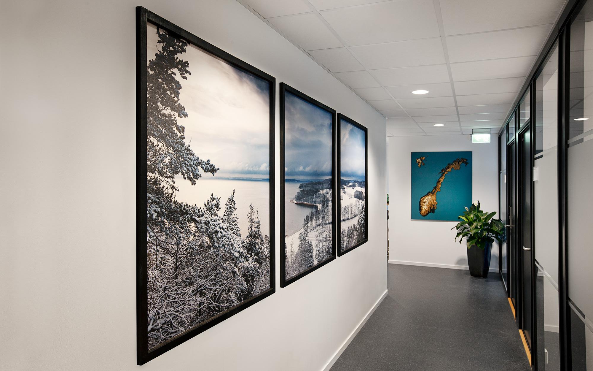 Sivil Klareringsmyndighet dekor, Norgeskart og bilde fra Jeløy, Moss