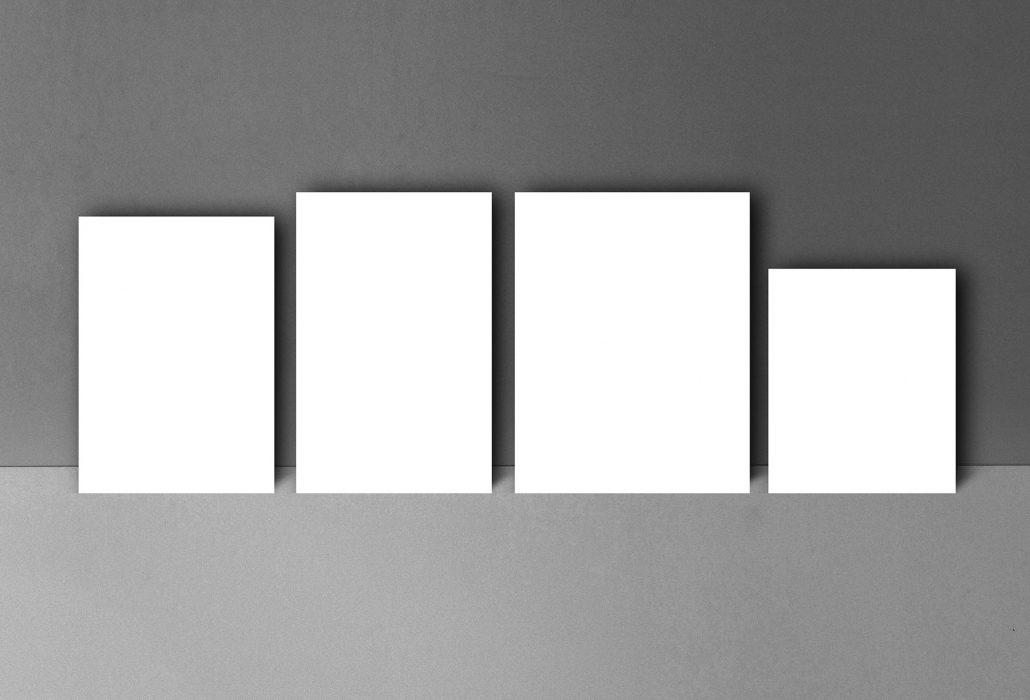 Katalog størrelser - Sandaunet Designbyrå