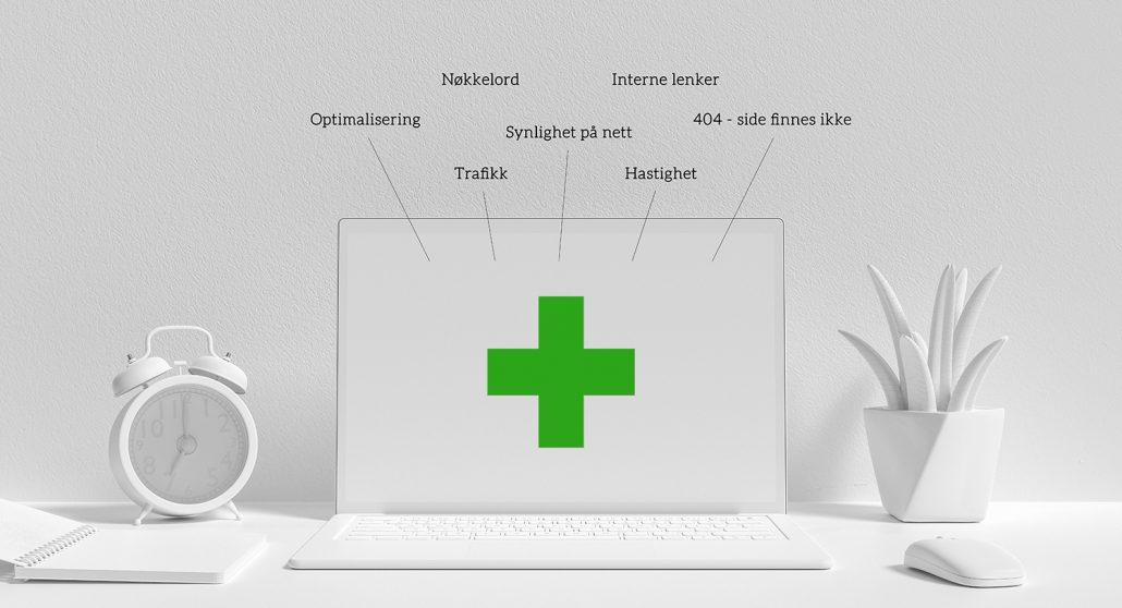 Audit - Helsesjekk - Analyse - Sandaunet Designbyrå