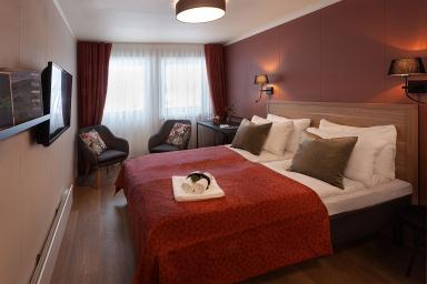 Blix Hotell, overnattingsrom