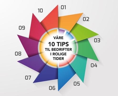 Bedrifter som sliter - 10 tips