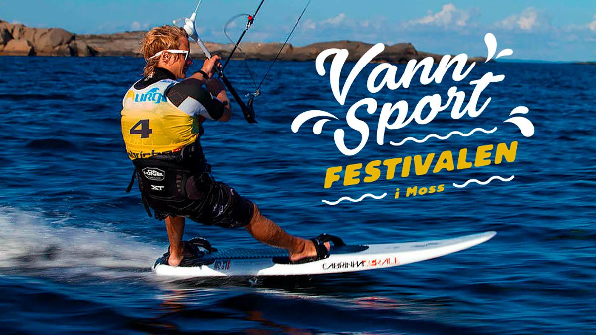 Vannsportfestivalen i Moss - Sandaunet Designbyrå
