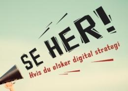 Stilling ledig for deg som elsker digitale strategier